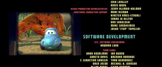 tilt flick personnage character cars disney pixar