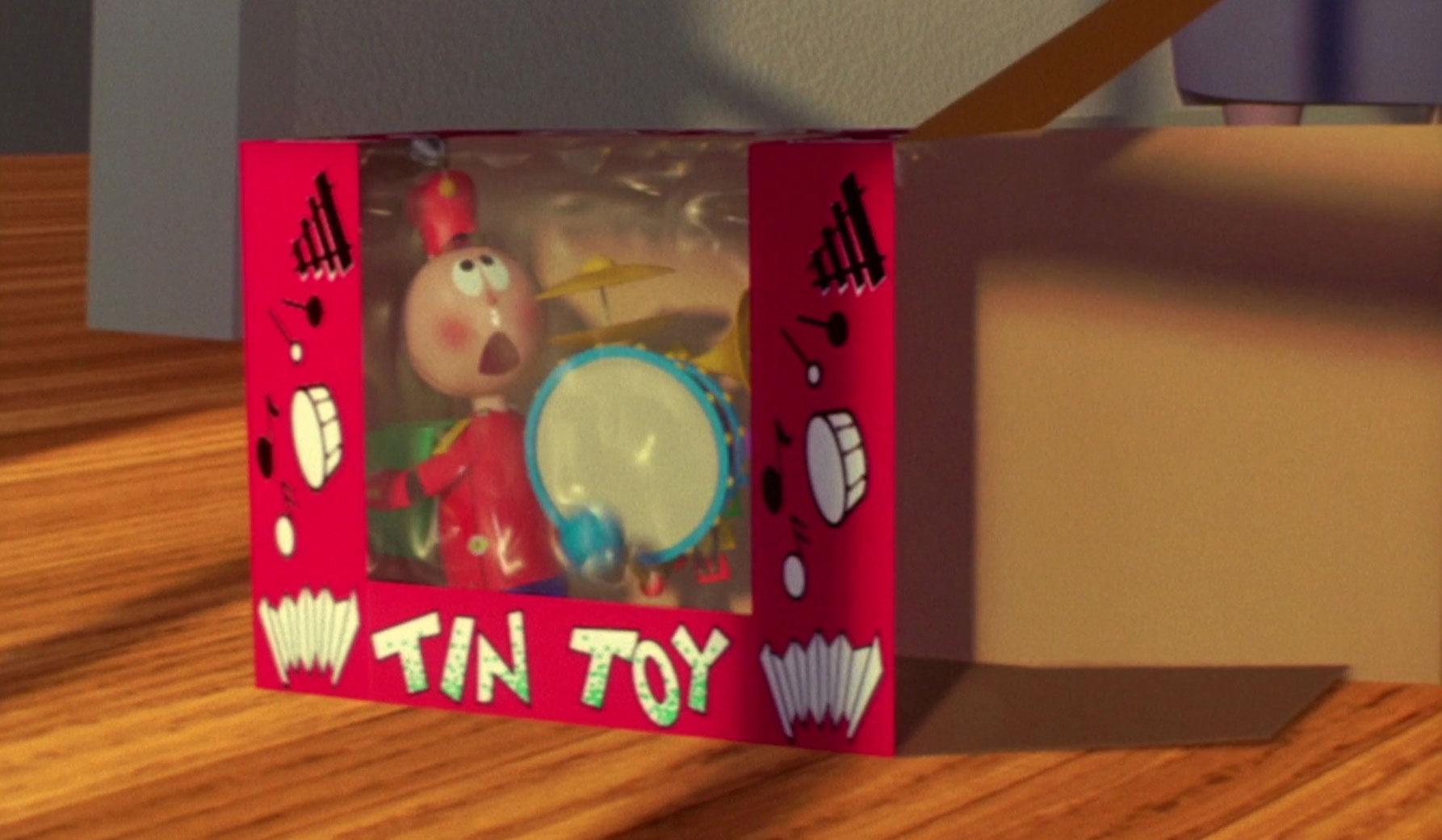 pixar disney tin toy
