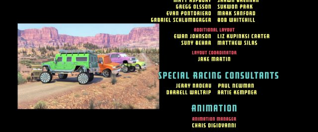 tj personnage character cars disney pixar