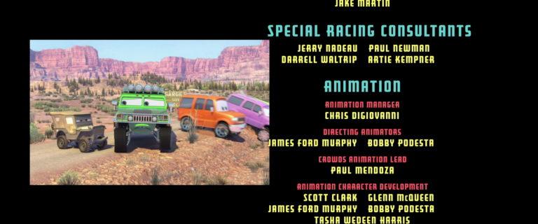 """T.J, personnage dans """"Cars""""."""