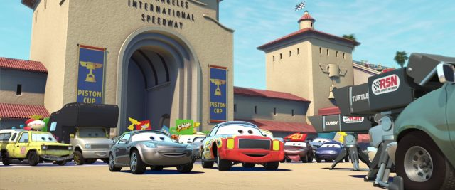 todd  personnage character cars disney pixar