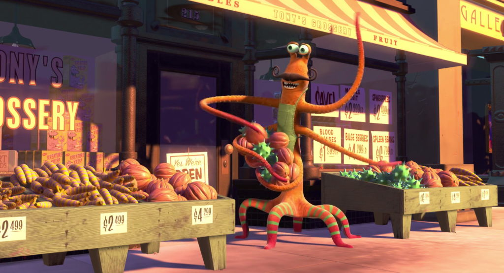 tony pixar disney personnage character monstres cie monsters inc