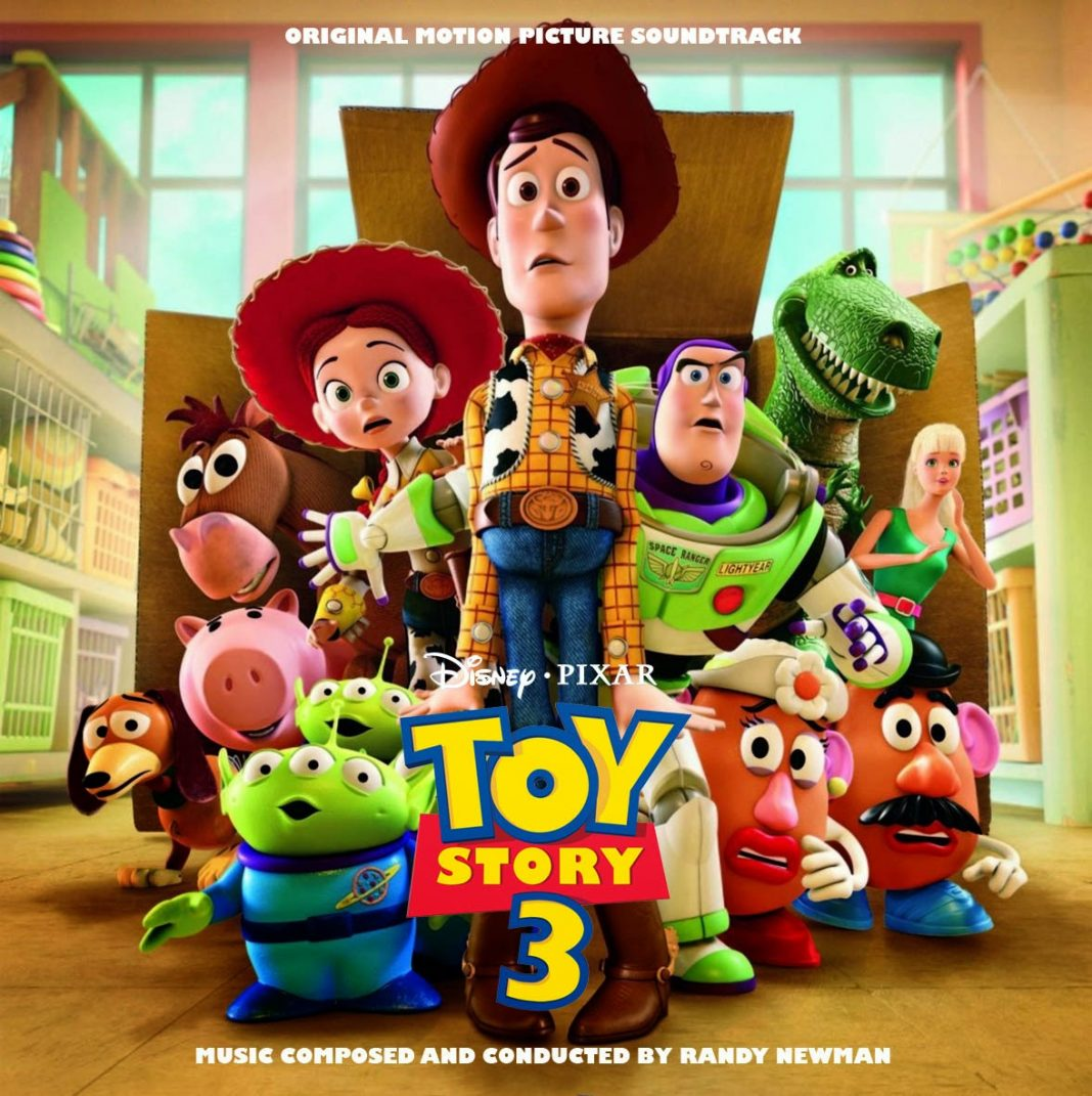 Pixar disney bande originale soundtrack toy story 3