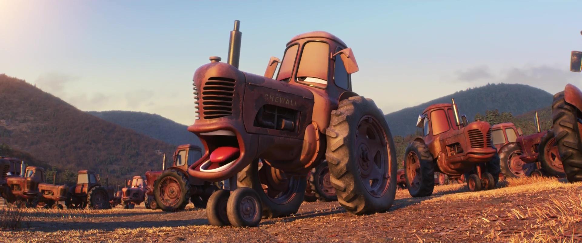 Les tracteurs personnages dans cars pixar planet fr - Cars et les tracteurs ...