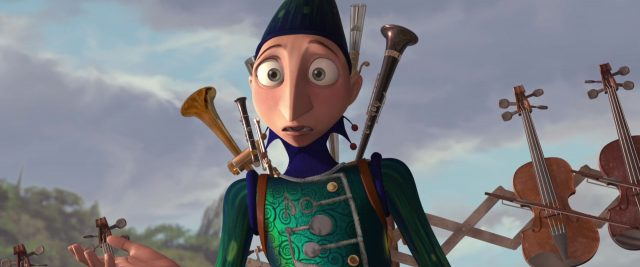 treble homme orchestre one man band personnage character disney pixar