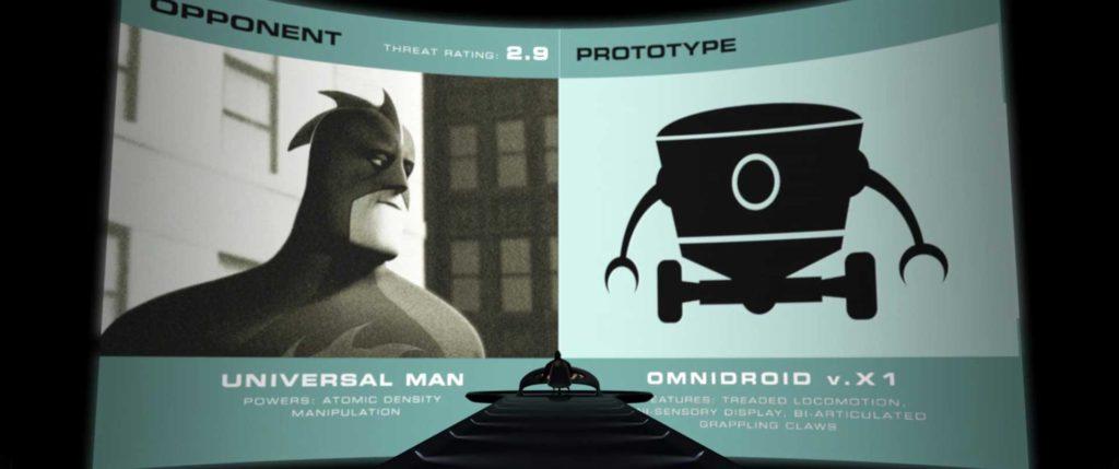 universalman pixar disney personnage character indestructibles incredibles