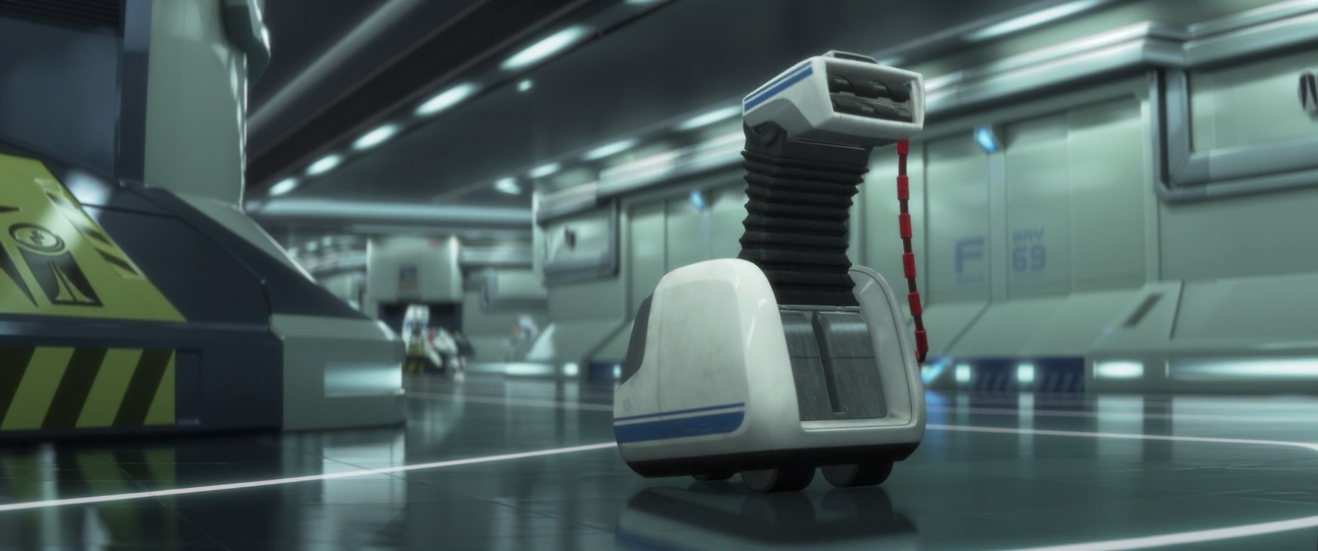 vaq m personnage dans wall e pixar planet fr. Black Bedroom Furniture Sets. Home Design Ideas