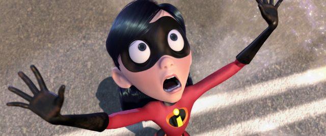 violette parr personnage character indestructibles incredibles disney pixar