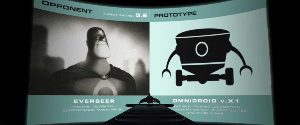 visionman pixar disney personnage character indestructibles incredibles