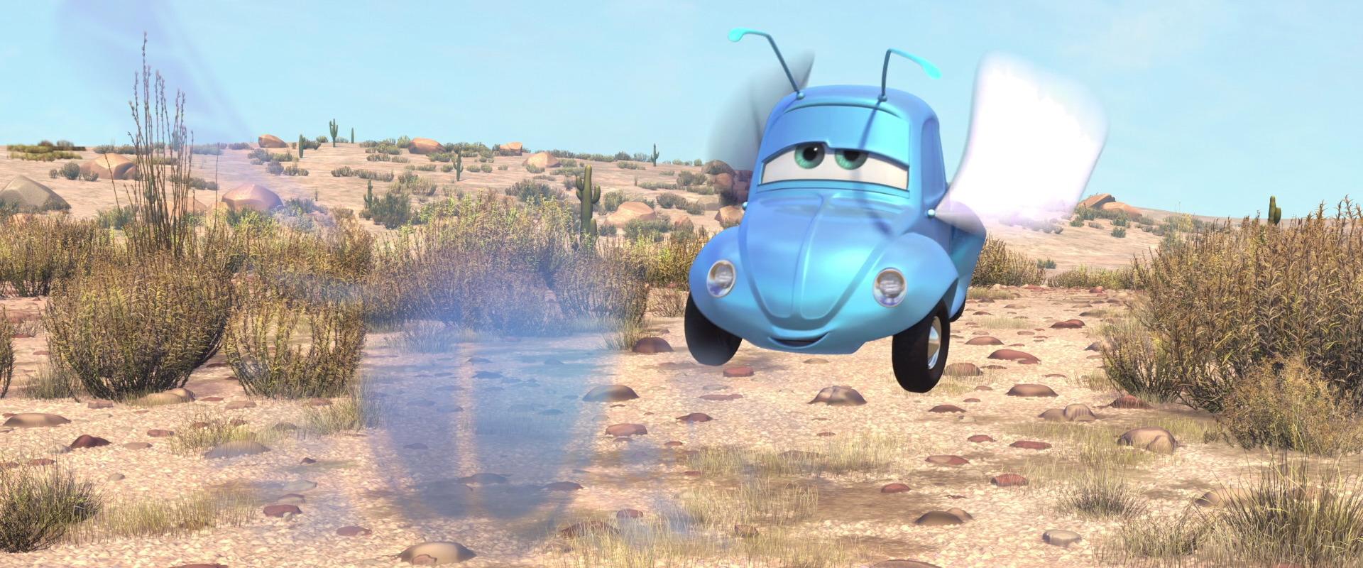 vroomaroundus bugus personnage character pixar disney cars