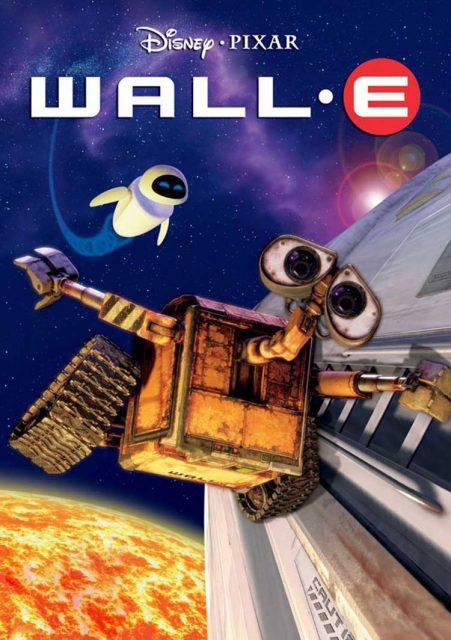 affiche poster wall-e disney pixar