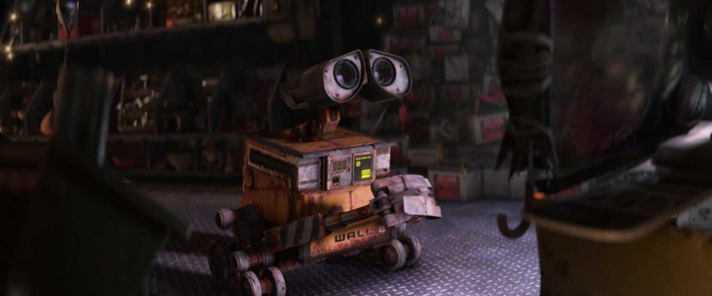 pixar disney wall-e personnage character