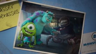 waternoose pixar disney personnage character monstres academy monsters university
