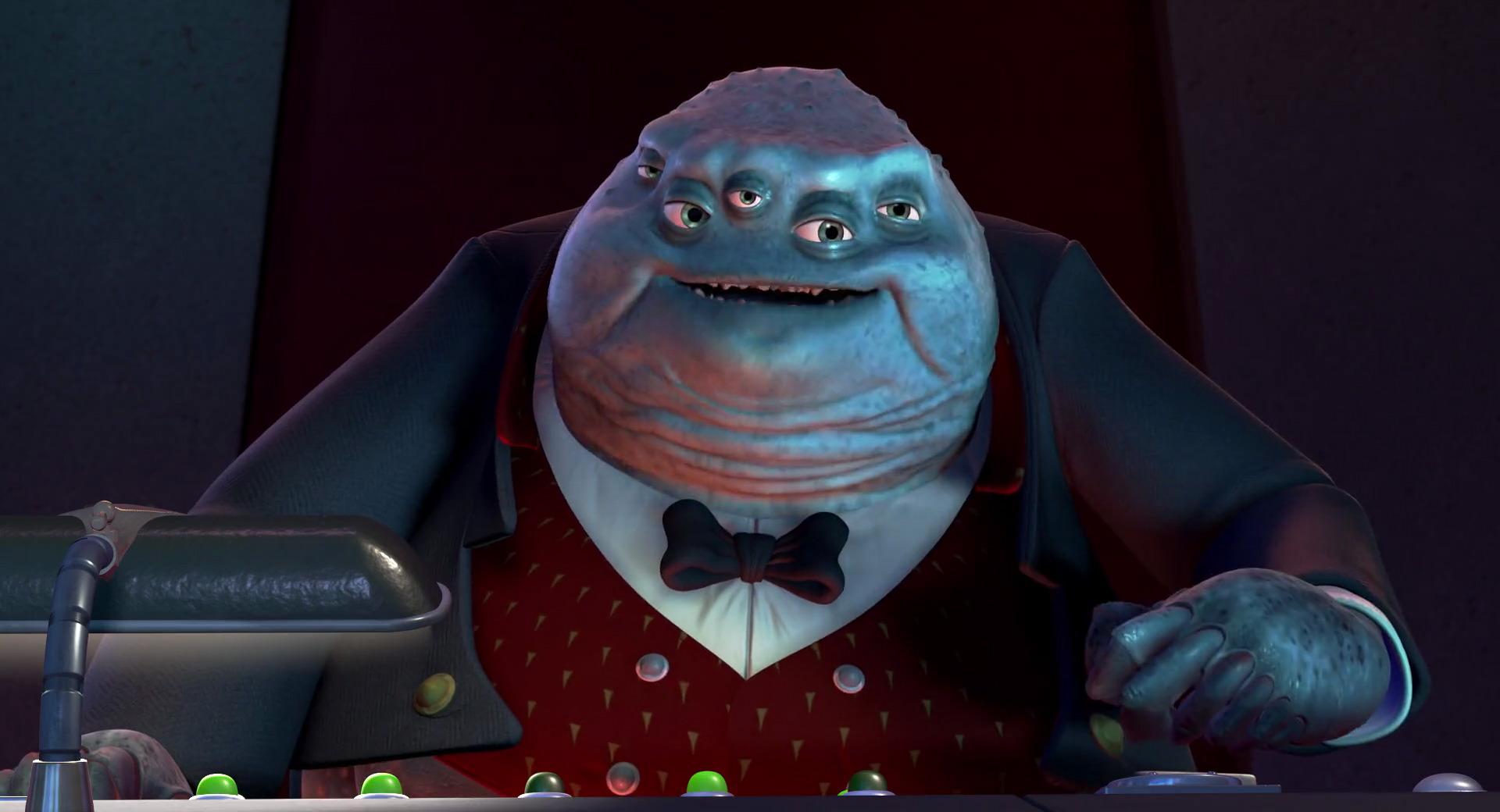 henry james waternoose iii character from monsters inc pixar planet fr. Black Bedroom Furniture Sets. Home Design Ideas
