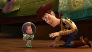 woody   personnage character pixar disney toy story toons mini buzz small fry