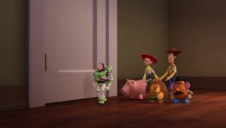 woody  personnage character pixar disney toy story toons rex fete roi partysaurus