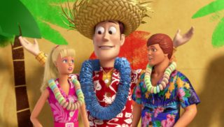 woody  personnage character pixar disney toy story toons hawai vacances