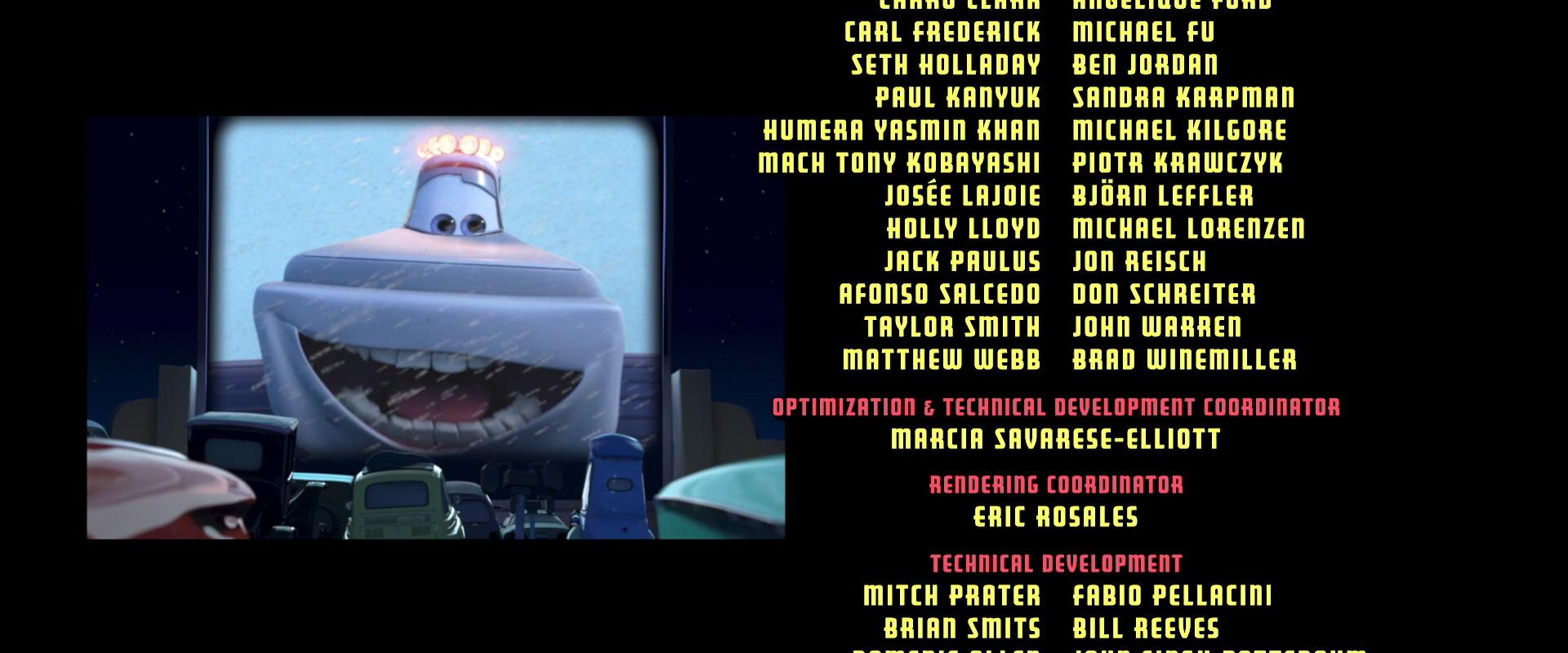 yeti personnage character pixar disney cars