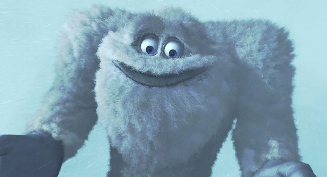 yeti personnage character monstres monsters inc cie disney pixar