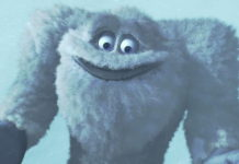 yeti pixar disney personnage character monstres cie monsters inc