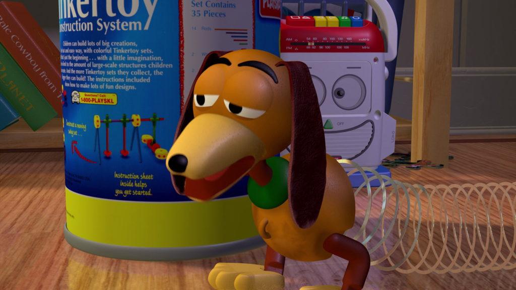 zig zag slinky dog toy story disney pixar personnage character