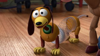 zig-zag slinky dog pixar disney personnage character toy story 3