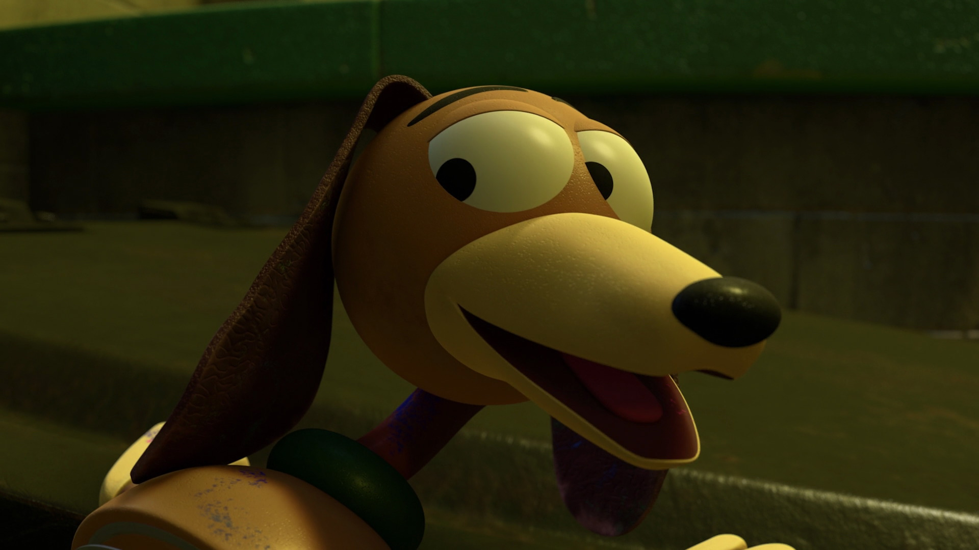 "Slinky Dog, character from ""Toy Story"". 