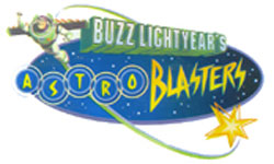 Attraction Buzz Lightyear Blast Astro