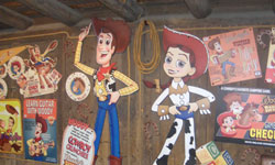 Attraction Woody Round'up Village