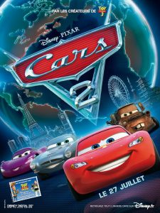 affiche cars 2 pixar disney poster