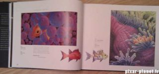 art of finding nemo Livre Disney Pixar Book