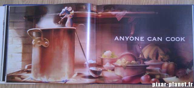 art of ratatouille Livre Disney Pixar Book