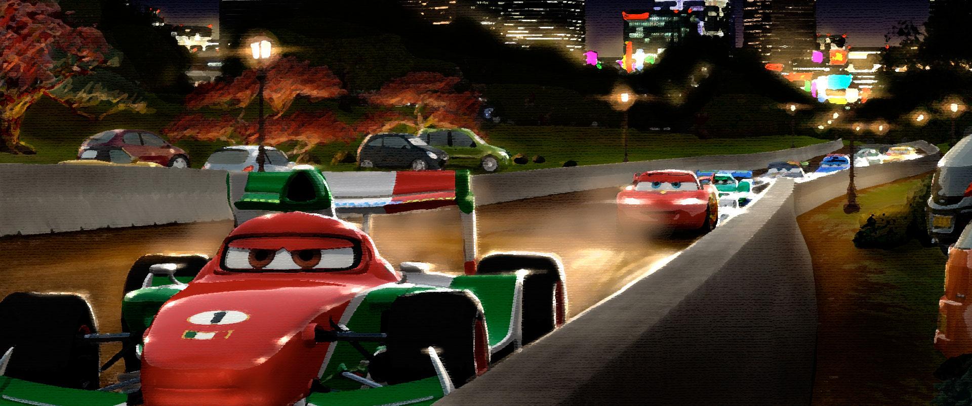 artwork cars 2 disney pixar