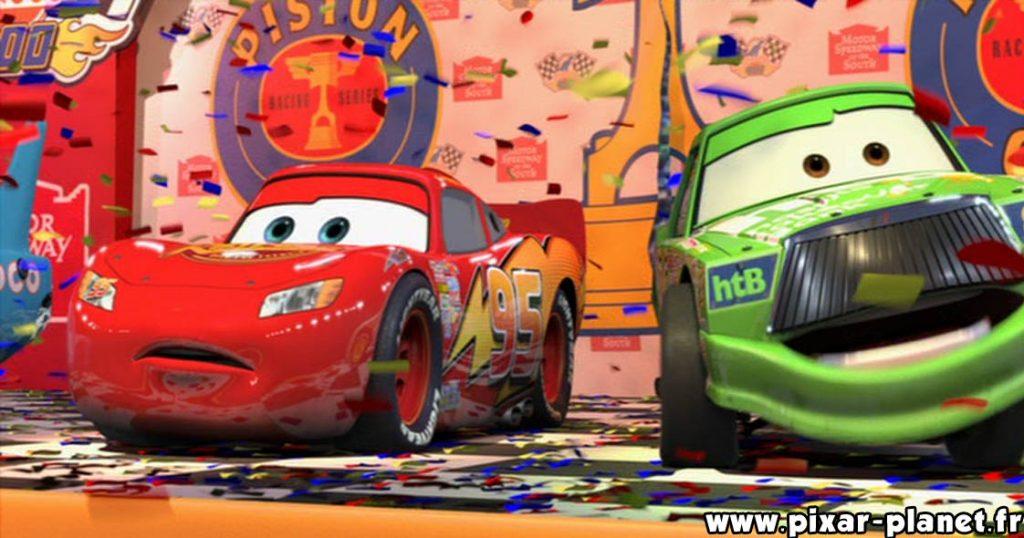 Pixar Disney erreur cars goof