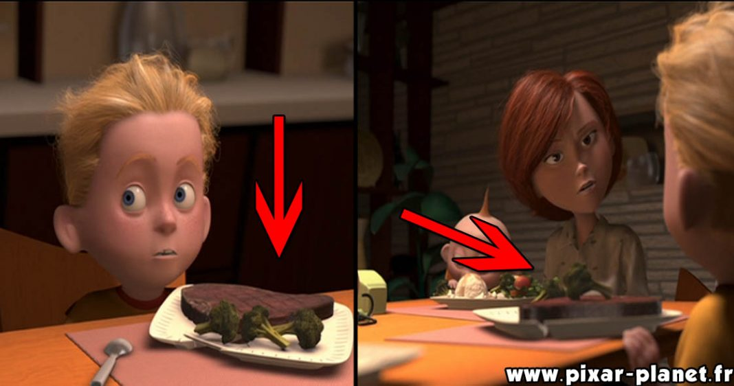 Pixar Disney erreur-indestructibles goofs incredibles