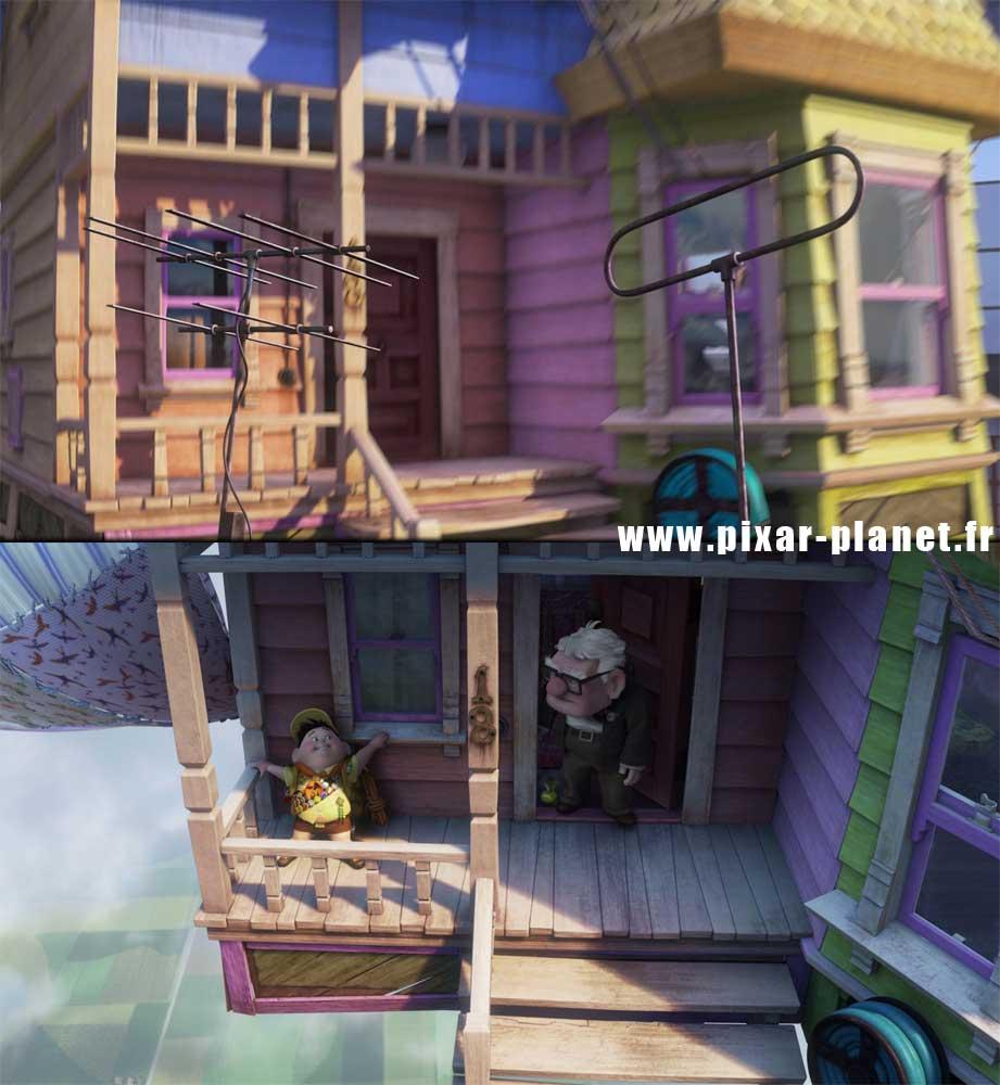 Pixar Disney erreur la-haut goof up