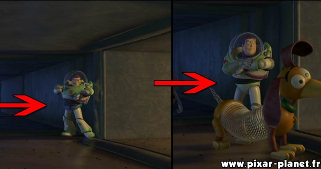 Pixar Disney erreur toy story 2 goof