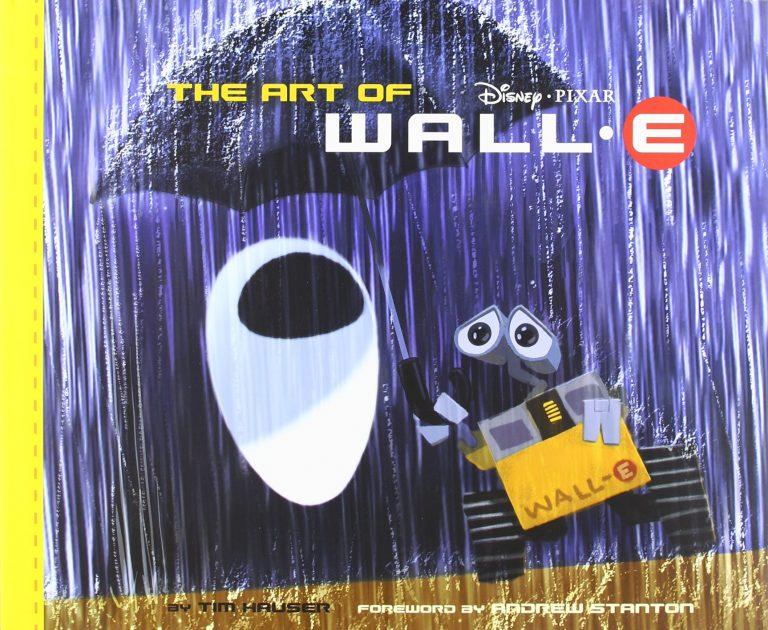 """Le livre """"The Art of WALL-E""""."""