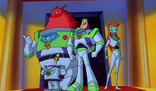 Pixar disney aventures buzz éclair star command adventure begins aventure début