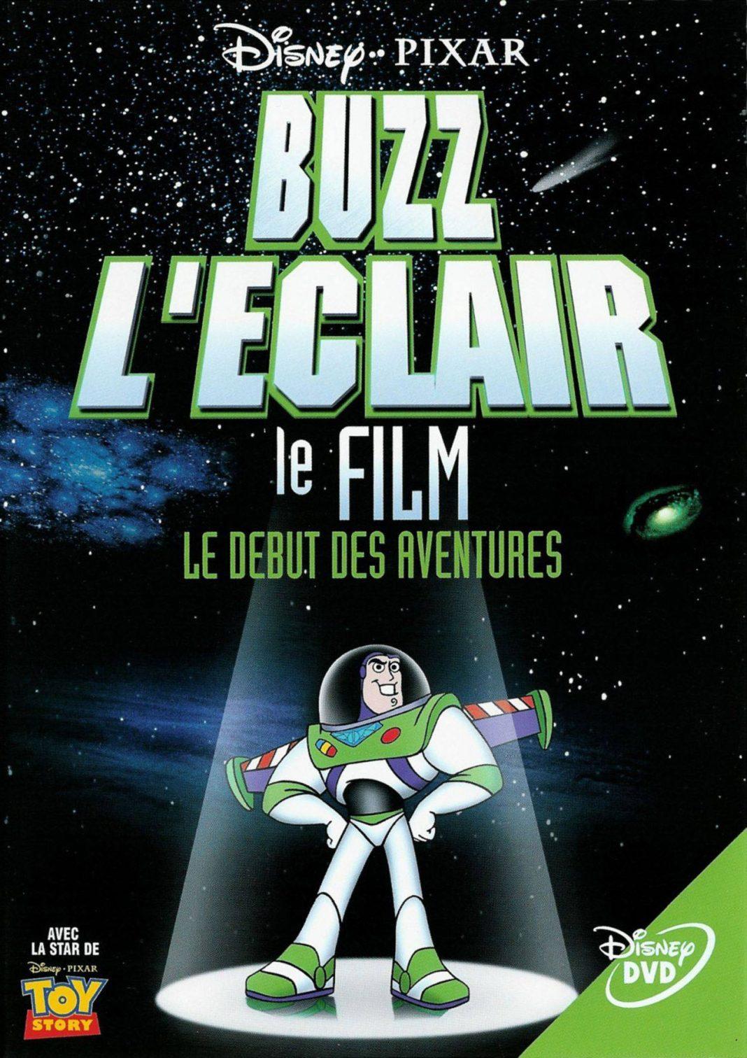Pixar disney aventures buzz éclair star command adventure begins aventure début affiche poster