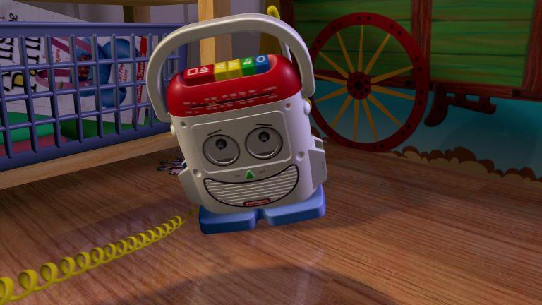 """L'Arsène, personnage dans """"Toy Story""""."""