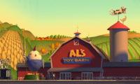 al ferme jouets toy barn disney pixar