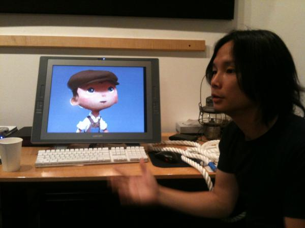 pixar disney artwork concept art la luna