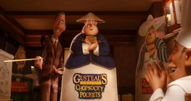 Chef Gusteau's Frozen Foods disney pixar