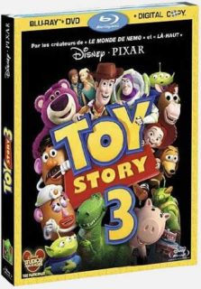 blu-ray dvd toy story 3 jaquette disney pixar
