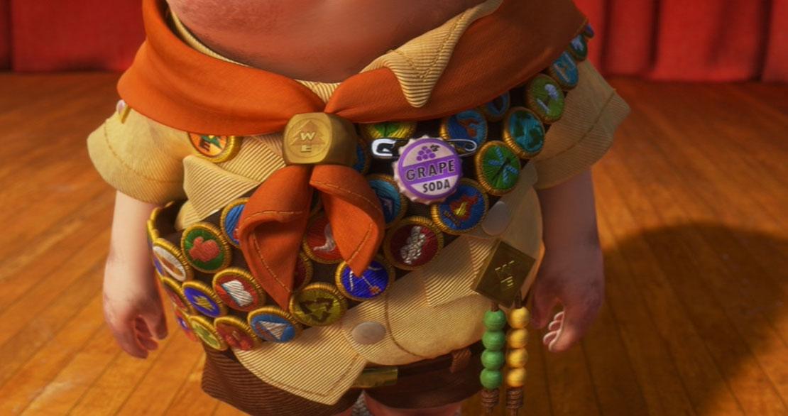 Pixar Disney Grape Soda