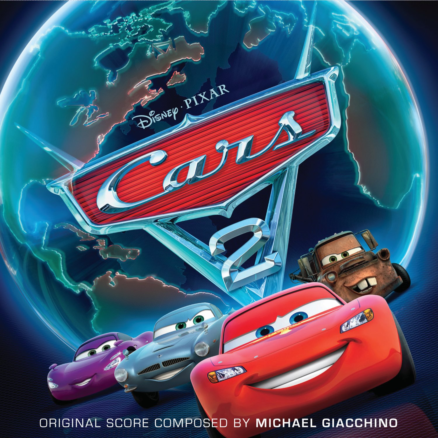 Pixar disney bande originale soundtrack cars 2
