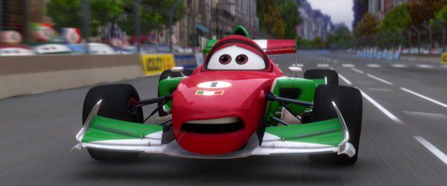 francesco bernoulli personnage character cars disney pixar