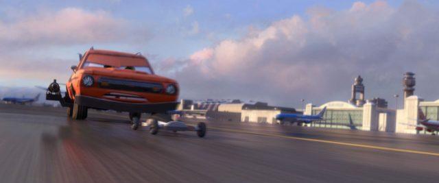 grem personnage character cars disney pixar