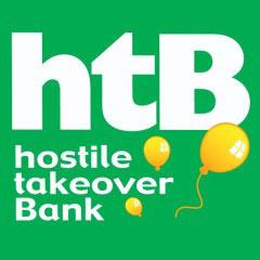 htb hostile takeover bank disney pixar